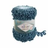 Pyffy Fine ombre batik цвет: морская волна (7263)