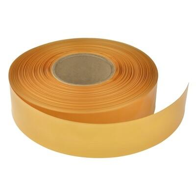 Термоусадочная трубка. Диаметр 32мм/16мм. Медовое золото.