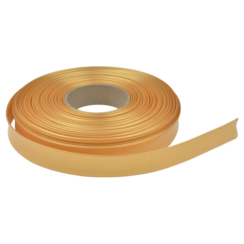 Термоусадочная трубка. 22.8мм/11мм. Жемчужное золото.