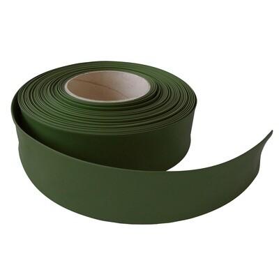 Термоусадочная трубка. 35 мм/17 мм. Темно-зеленый.