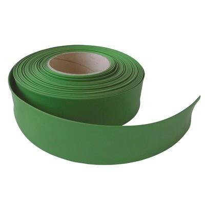 Термоусадочная трубка.35мм/17мм. Зеленая трава.