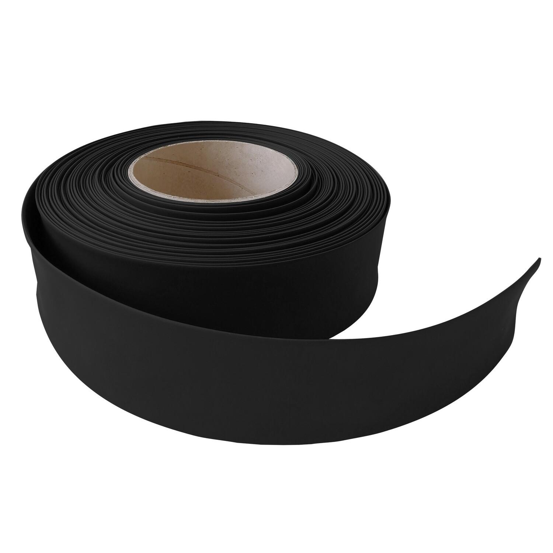 Термоусадочная трубка. 35 мм/17 мм. Черный.