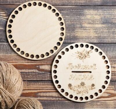 Набор заготовок (донышек) для вязания