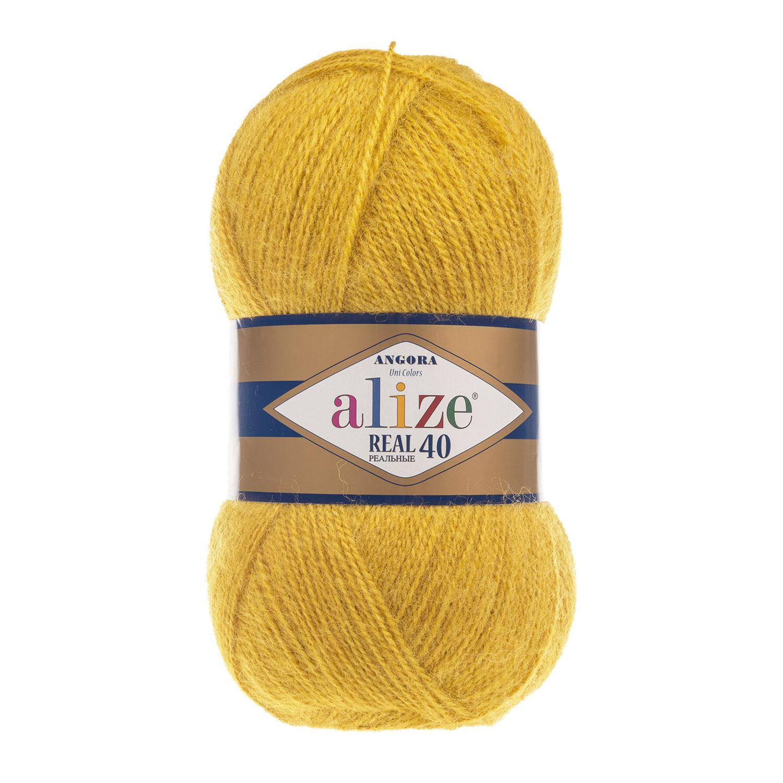 ANGORA REAL 40 Темно-желтый №488