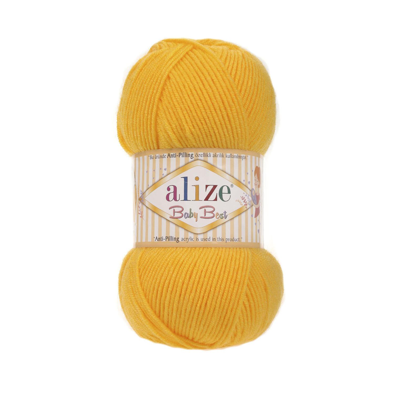 BABY BEST Темно-желтый №216