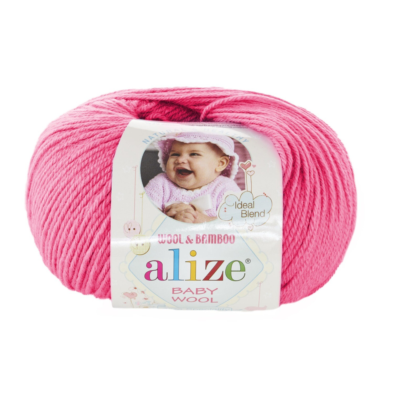 BABY WOOL Темно-розовый №33