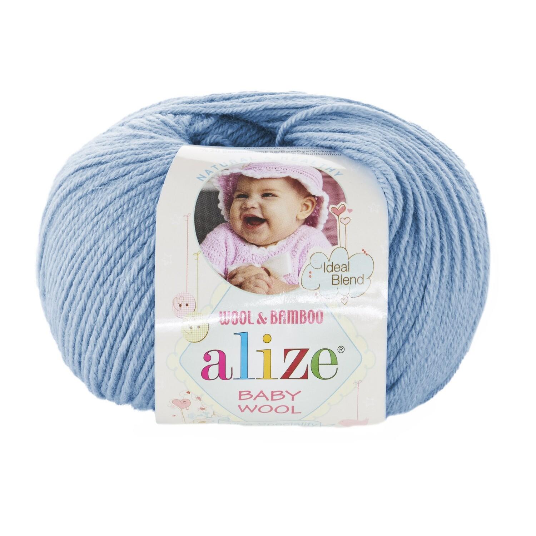 BABY WOOL Светло-голубой №350