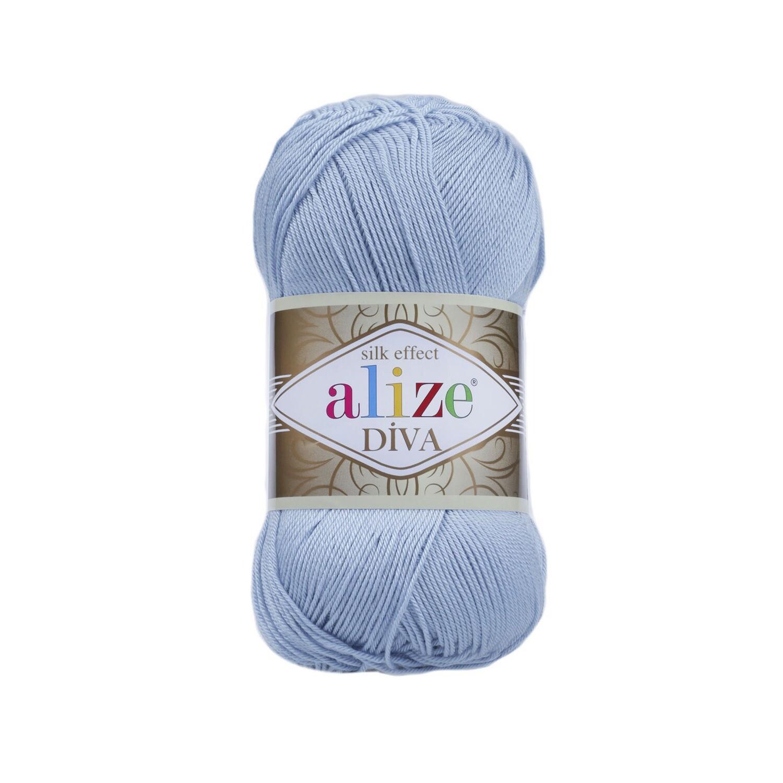 DİVA Светло-голубой-голубой №350