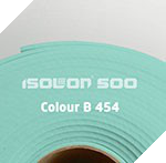 Изолон ППЭ 2 мм, ширина 75 см Цвет: Аквамарин (B454)
