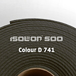 Изолон ППЭ 2 мм, ширина 75 см Цвет: Темно-серый (D741)