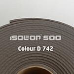 Изолон ППЭ 3 мм, ширина 1,00 м Цвет: Серый (D742)