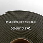 Изолон ППЭ 3 мм, ширина 1,00 м Цвет: Темно-серый (D741)
