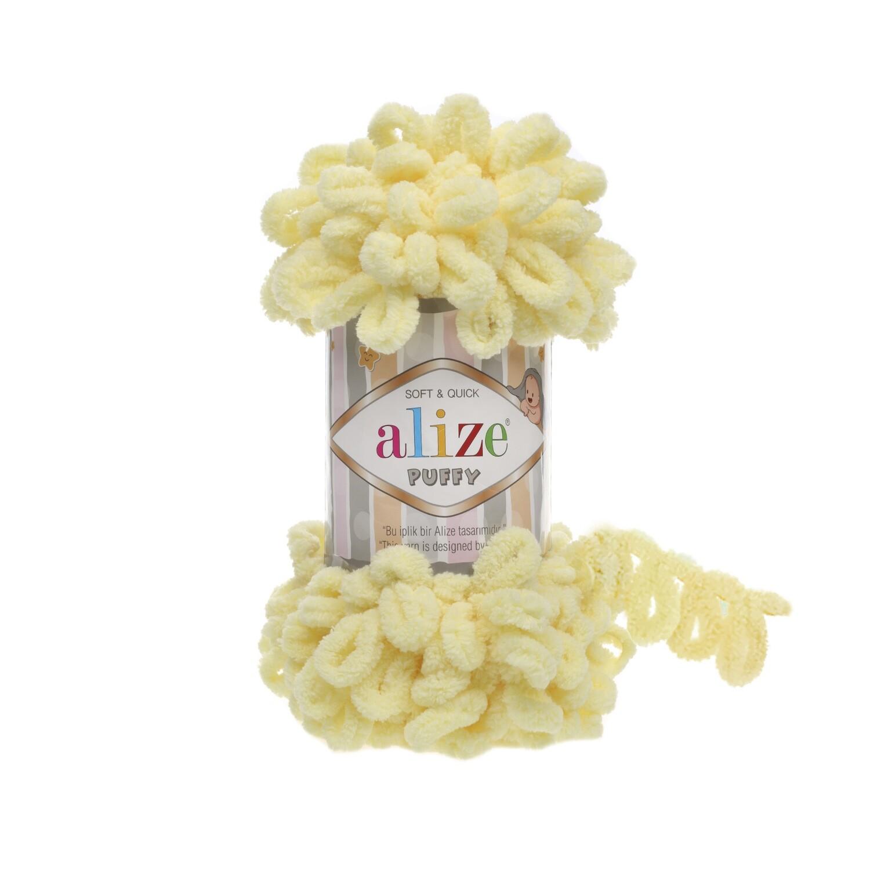 PUFFY Цвет: Светло-желтый №13