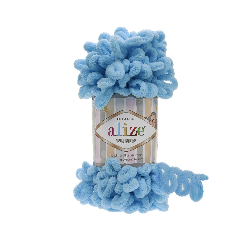PUFFY Цвет: Светло-бирюзовый №287