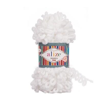 PUFFY FINE Цвет: Белый №55