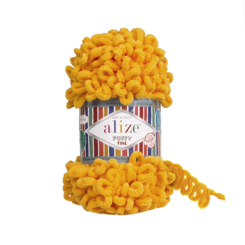 PUFFY FINE Цвет: Желтый №82