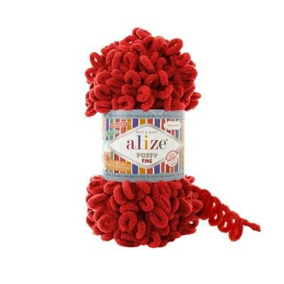 PUFFY FINE Цвет: Красный №56