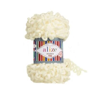 PUFFY FINE Цвет: Светло-молочный №62