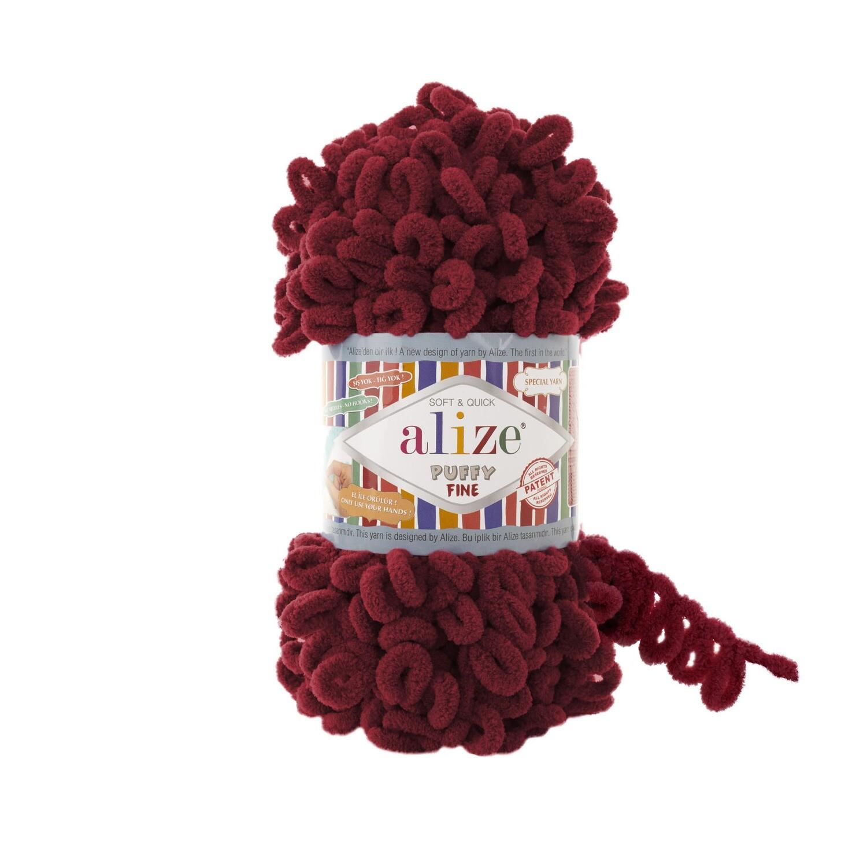 PUFFY FINE Цвет: Вишня №107