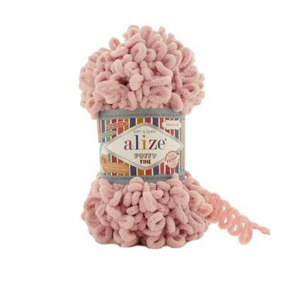 PUFFY FINE Цвет: Светло-розовый №340