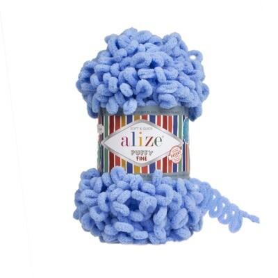 PUFFY FINE Цвет: Голубой №112