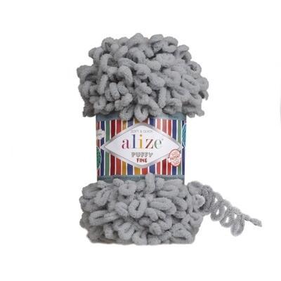 PUFFY FINE Цвет: Угольный серый №343
