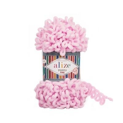 PUFFY FINE Цвет: Светло-розовый №194