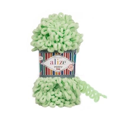 PUFFY FINE Цвет: Пастельно-зеленый №516