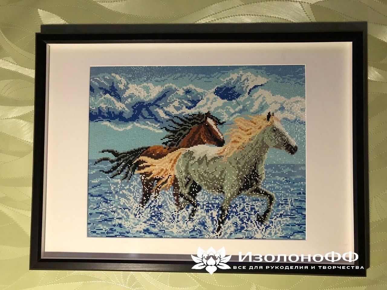 """Картина """"Лошади"""" 52х73 см"""
