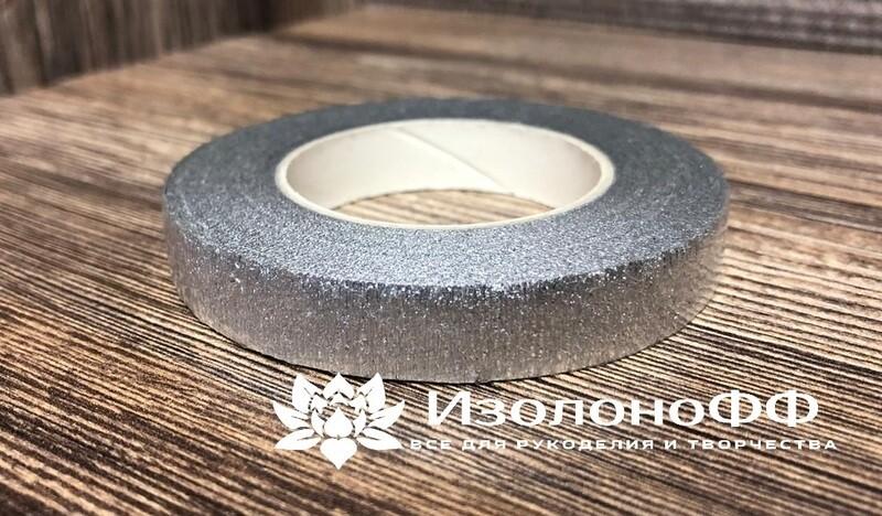 Тейп-лента 12мм, серебро