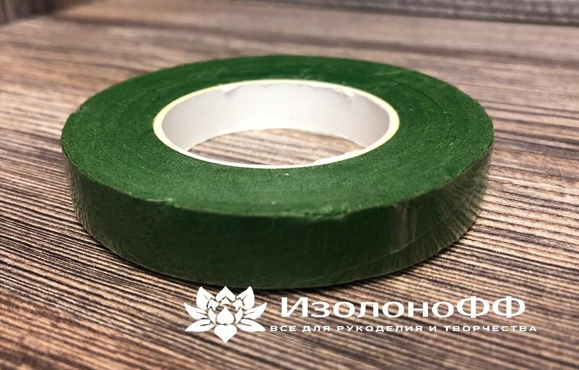 Тейп-лента 12мм, зеленая
