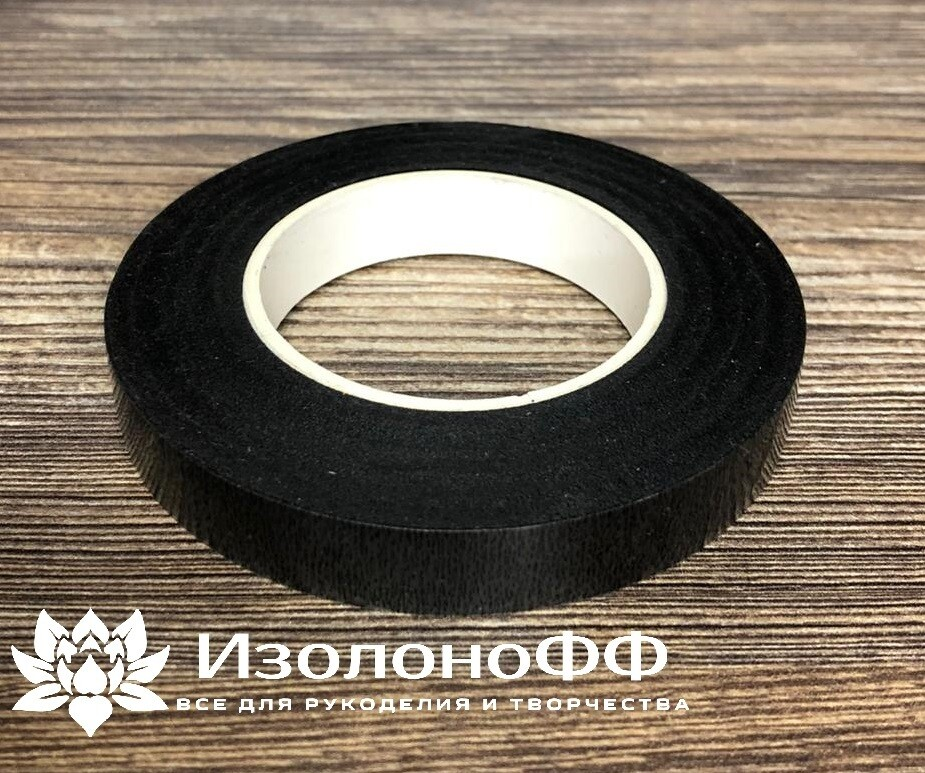 Тейп-лента 12мм, черная
