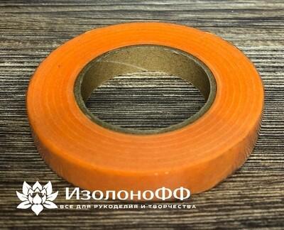Тейп-лента 12мм, оранжевая