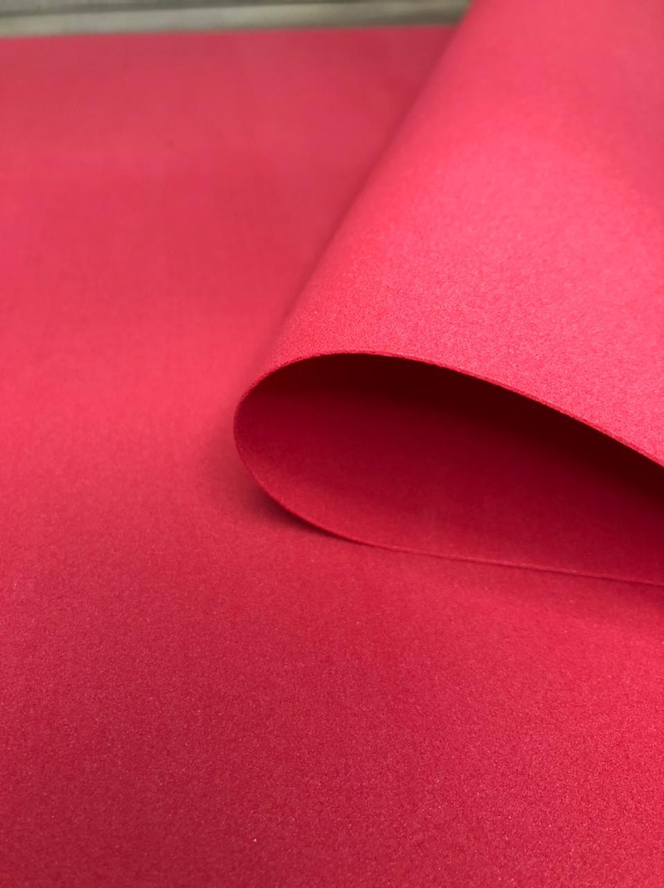 Фоамиран 1мм, красный, № 01 (50х50см)(Китай)