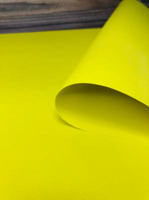 Фоамиран 1мм, желтый, № 07 (50х50см)(Китай)