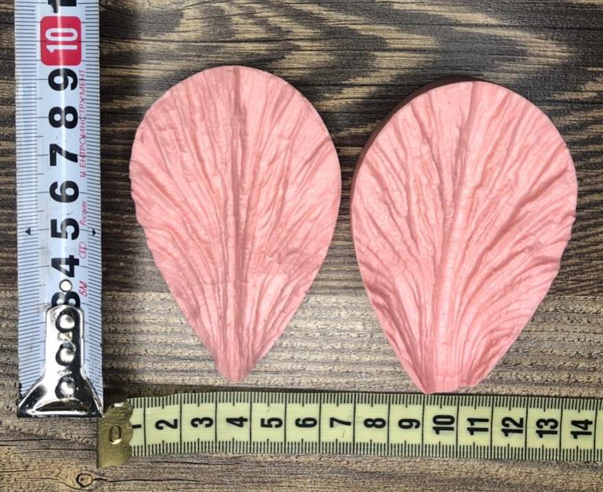 Молд двойной: Гладиолус, ирис, мак 8,5см*5,5см