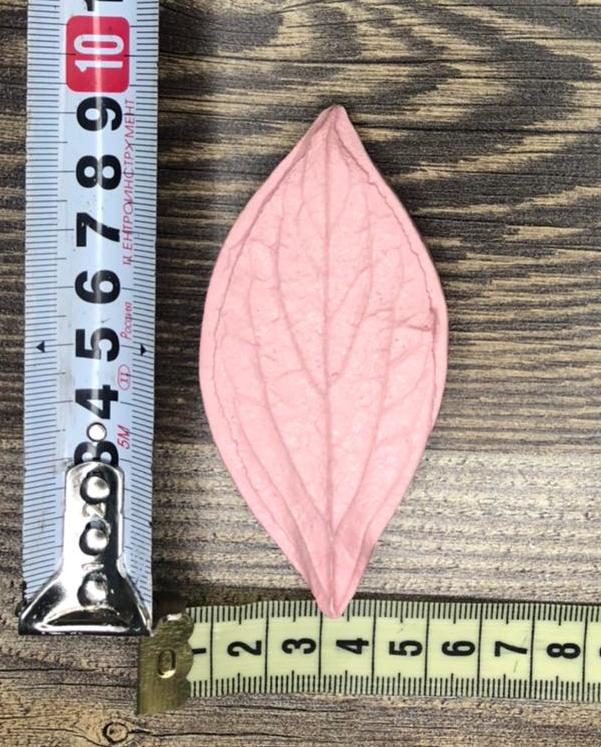 Молд: Лист пиона 9см*4,5см
