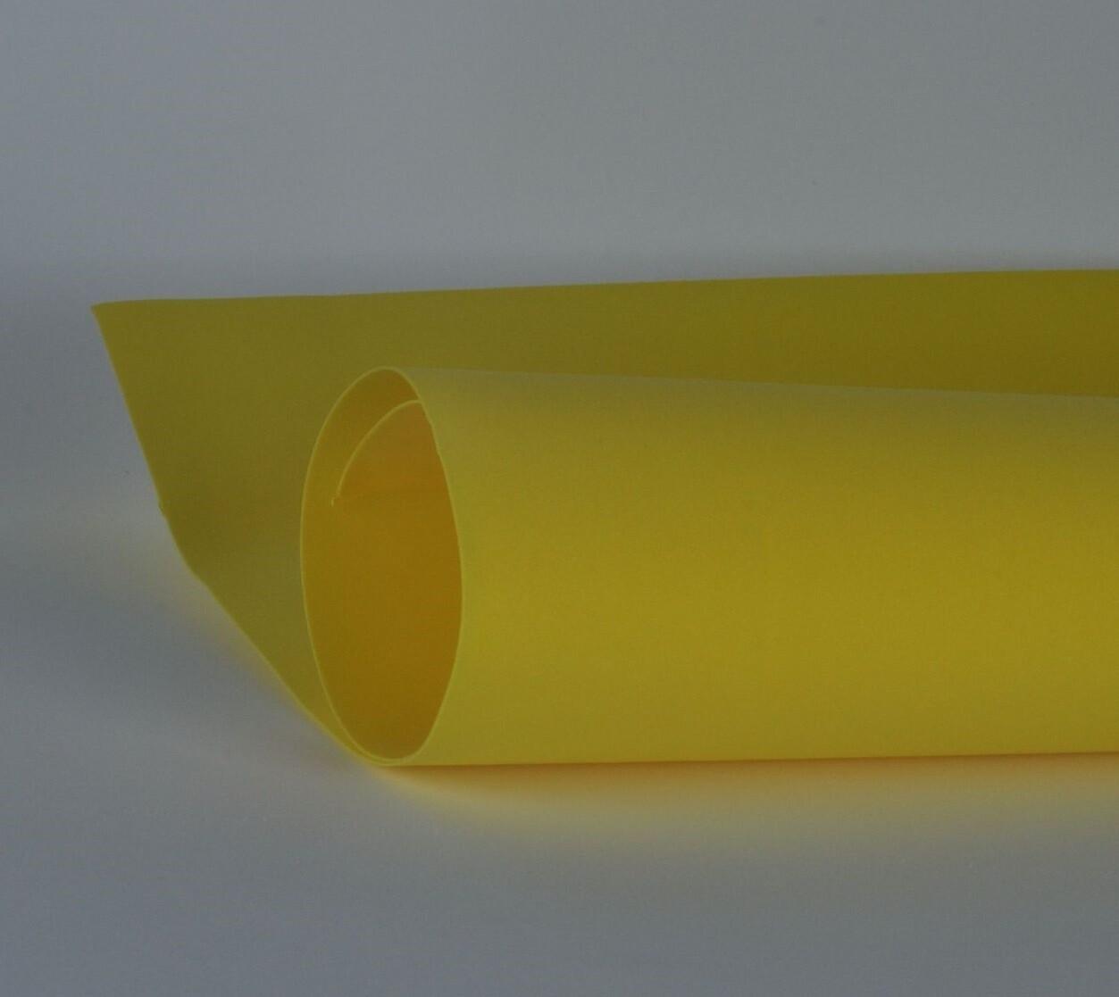 Фоамиран 1мм, Желтый, № 112 (60х70см)