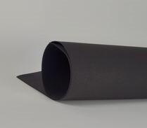 Фоамиран 1мм, Черный, № 195 (60х70см)