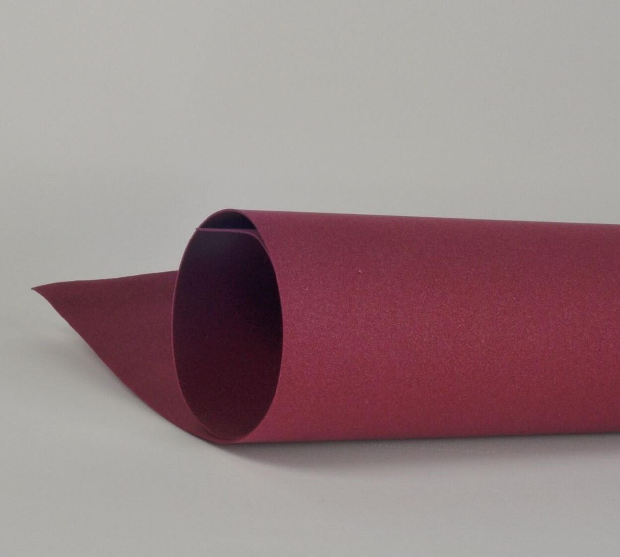 Фоамиран 1мм, Бордовый, № 136 (60х70см)