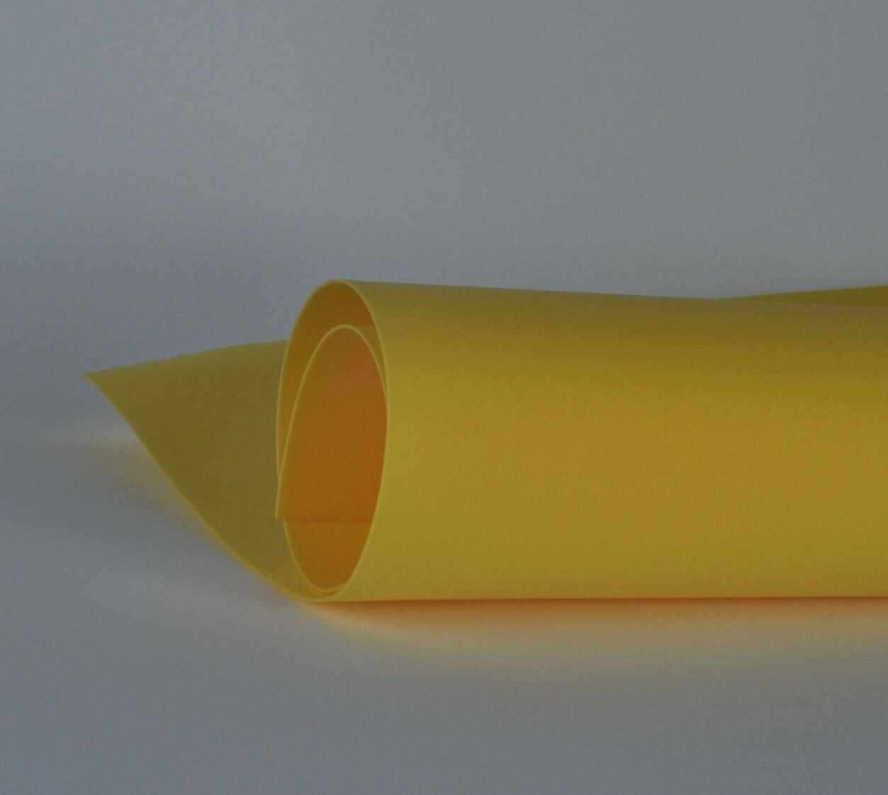 Фоамиран 1мм, Темно-желтый, № 122 (60х70см)