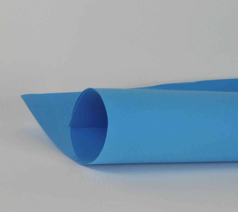 Фоамиран 1мм, Синий, № 167 (60х70см)