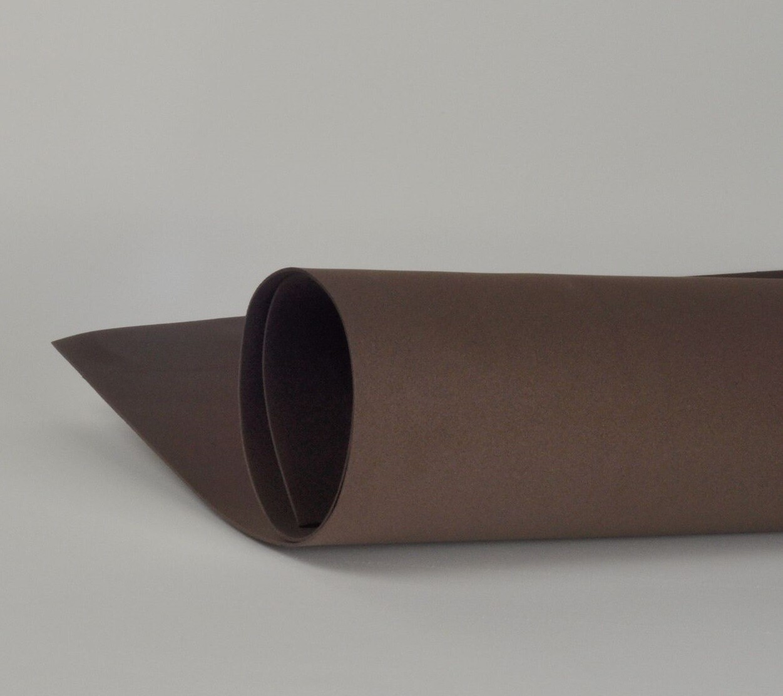 Фоамиран 1мм, Темно-коричневый, № 191 (60х70см)