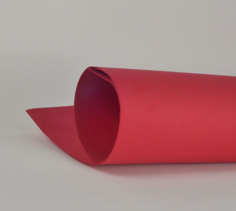 Фоамиран 1мм, Красный, № 135 (60х70см)