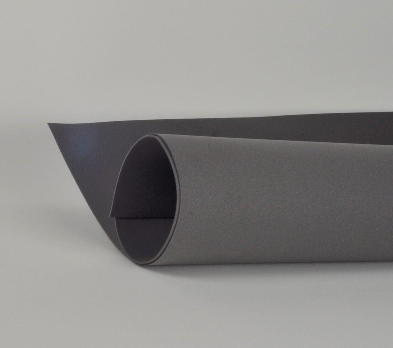Фоамиран 1мм, Темно-серый, № 198 (60х70см)