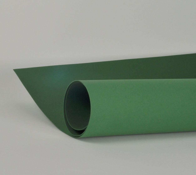 Фоамиран 1мм, Темно-темно-зеленый, № 182 (60х70см)