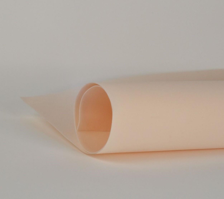 Фоамиран 2мм, Персиковый, № 208 (60х70см)