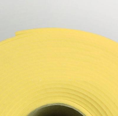 Изолон ППЭ 2 мм, ширина 75 см Цвет: Лимонный (Y344)