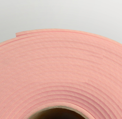 Изолон ППЭ 1 мм, ширина 75 см Цвет: Розовый (R149)