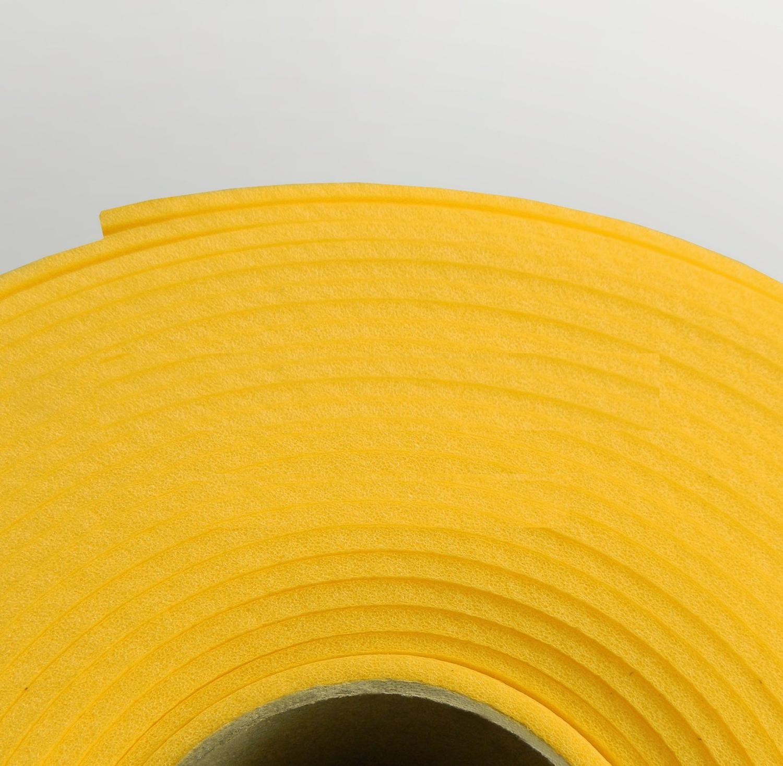 Изолон ППЭ 1 мм, ширина 75 см Цвет: Желтый (Y343)